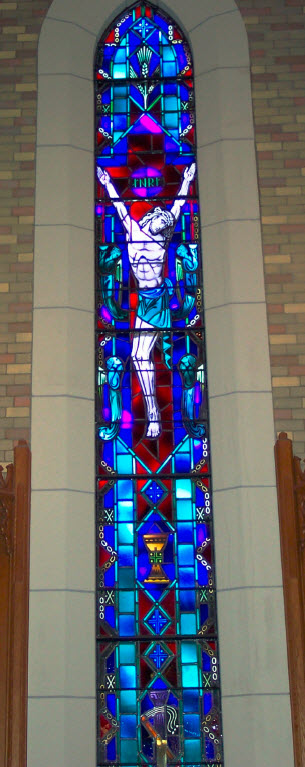 The Redemption Window, St. John's Lutheran Church, Effingham, IL